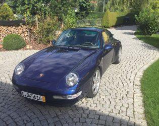 Porsche 911 Carrera2 Coupè – Blau Metallic
