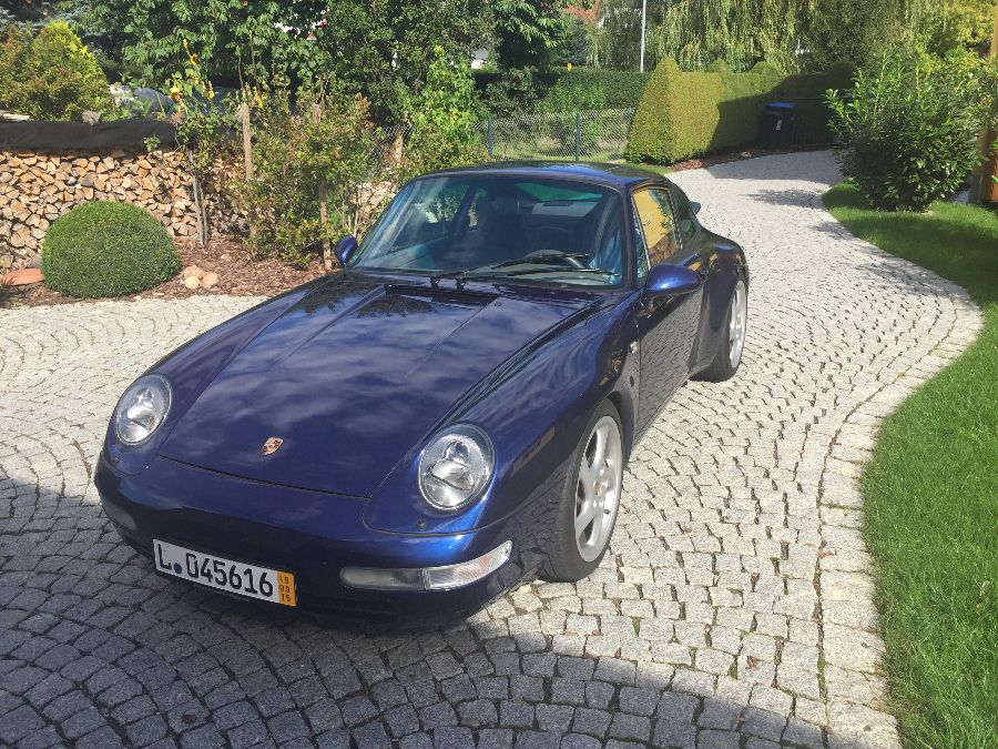 Porsche 911 Carrera2 Coupè - Blau Metallic